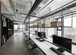 青浦区loft风格办公室亚搏电竞唯一官网设计