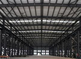 上海闵行工业区亚搏电竞官网钢结构设计搭建