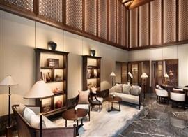 酒店大堂餐厅客房亚搏电竞唯一官网设计
