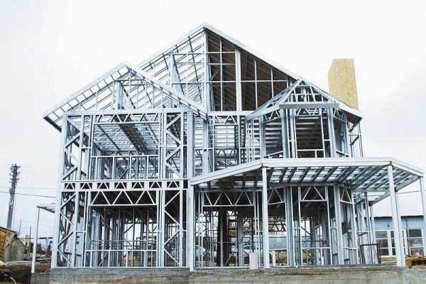 钢结构房屋实景图片