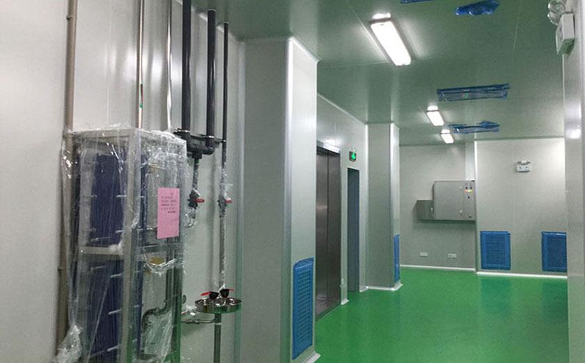 电子厂无尘净化车间设计图片