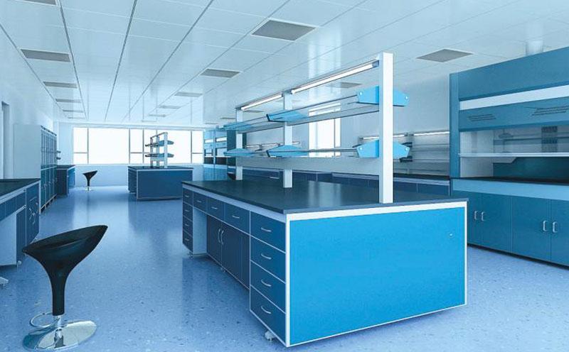 实验室净化车间实验台实景图