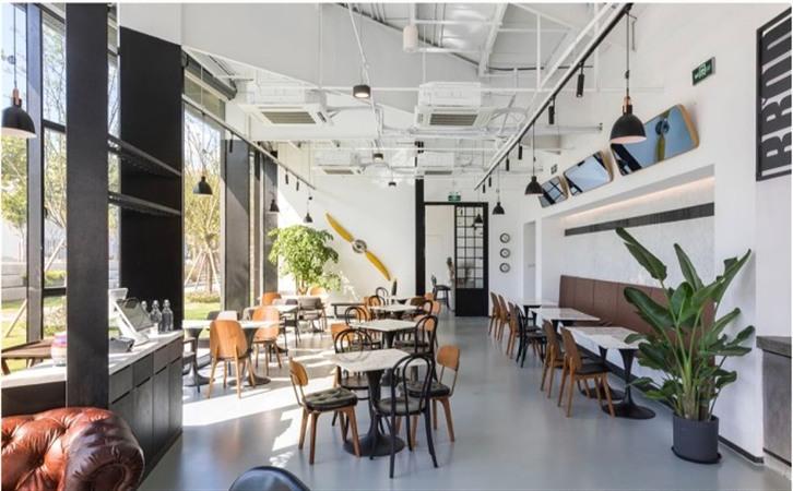 Loft复古休闲咖啡厅茶餐厅亚搏电竞唯一官网设计