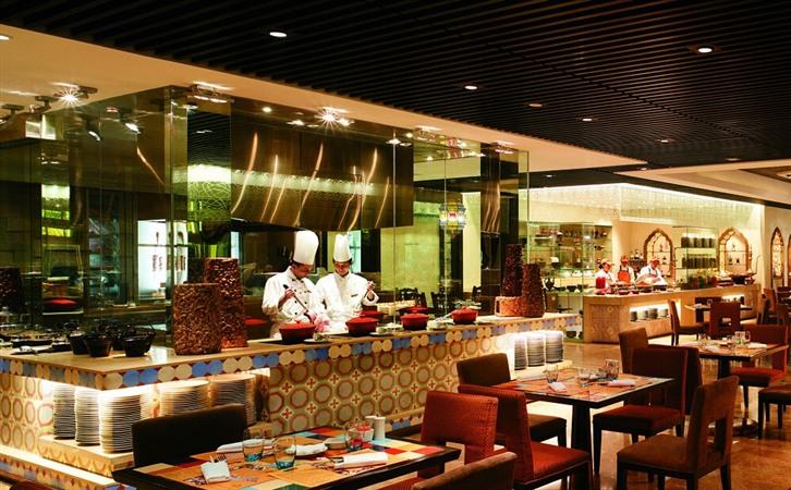 西餐自助餐厅装潢设计效果图