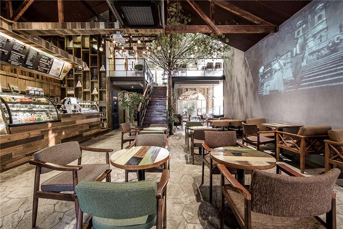 咖啡厅亚搏电竞唯一官网设计效果图