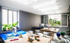 小型办公室空间设计新颖的创意很重要