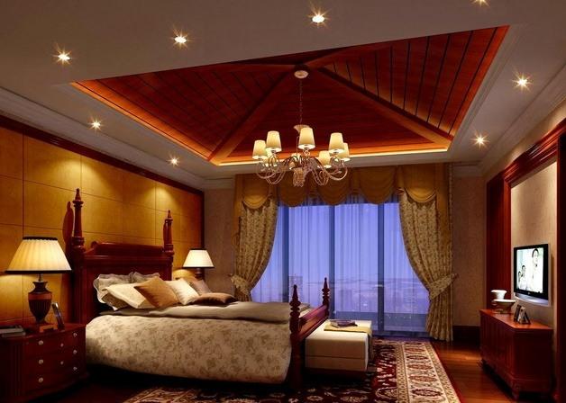 四星级酒店窗帘装饰设计实景图
